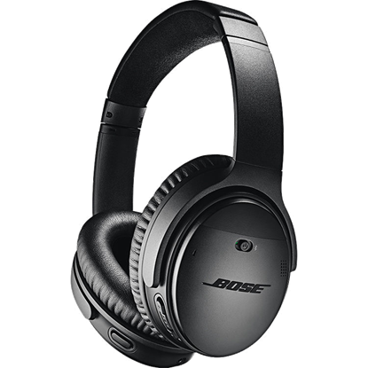 Audífonos Inalámbrico Bose QuietComfort 35 II Acoustic Noise Cancelling, Bluetooth, Botón Google Talk, Negro, 1Year
