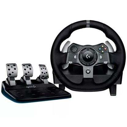 Volante de Carreras Logitech G920. Compatible con X-box One y PC