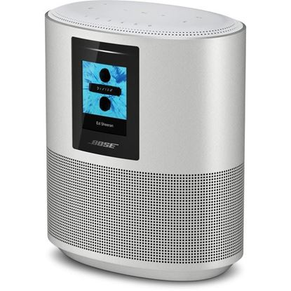 Parlante Inalámbrico Bose Home 500, Bluetooth, Wi-Fi, Pantalla LCD, Plata, 1Year