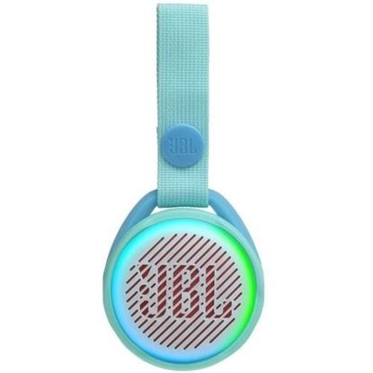 Parlante Inalámbrico JBL Jr Pop, Bluetooth, Teal