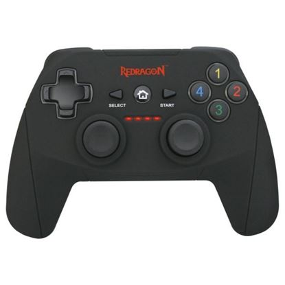 Control Inalámbrico Gamer Redragon Harrow, Negro